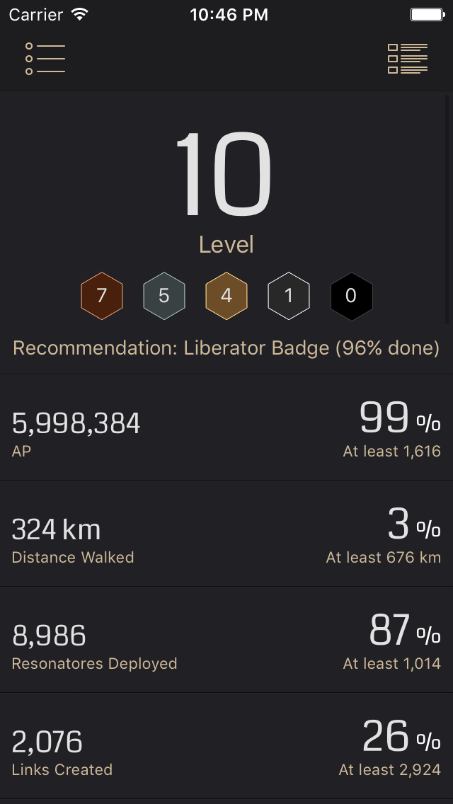 Agent Report for Ingress