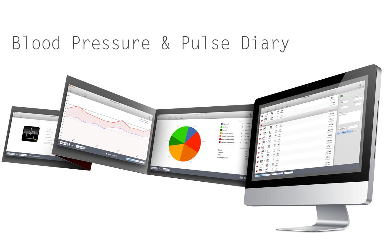 Blood Pressure & Pulse Diary